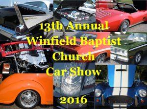 Car Show @ Winfield Baptist Church   Winfield   West Virginia   United States