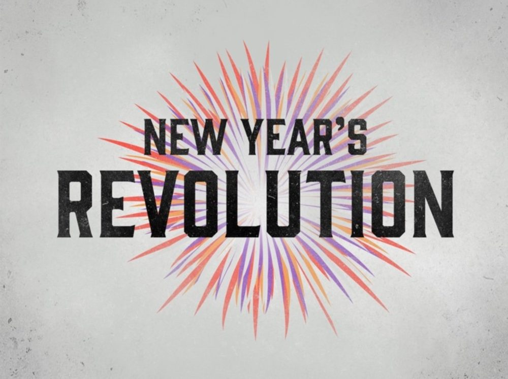 """Message: """"New Year's Revolution"""" from David Johns ..."""